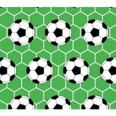 Baumwollstoff Kinderstoff Fußball grün Breite 160cm ab 50 cm