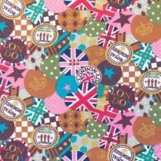 Canvas Stoff Dekostoff Baumwollstoff London ab 50 cm
