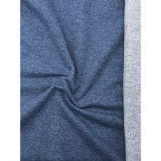 Sweat Terry Jeans meliert blau