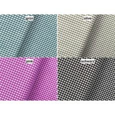 Vichy Karo Baumwollstoff Dekostoff 2,5mm 4 Farben