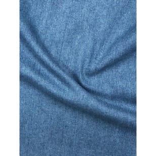 Jeans Stoff Stretch uni Breite 145cm blau kaufen