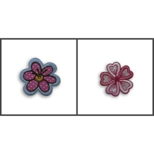 Applikation Blume, Blümchen kaufen