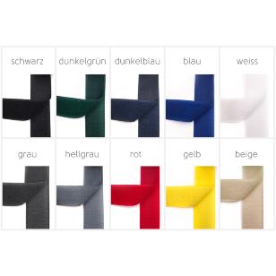 Klettband - Klettverschluss - 30mm Breite, 10 Farben kaufen