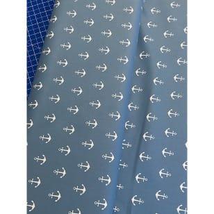 Baumwollstoff Anker jeansblau Breite 150 cm kaufen