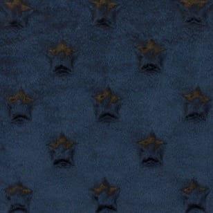 Minky Fleece Sterne Microfleece Stoff Breite 165 cm schwarz kaufen