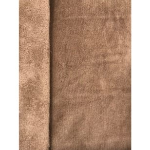 Double Fleece Micro Stoff uni kuschelig Breite 145cm ab 50cm kaufen
