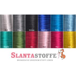 Satinkordel, Satinschnur, frei Farbwahl, 2mm,12 Farben kaufen
