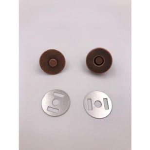 Magnetknopf 18mm, Magnetverschluss Bronze kaufen