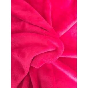 Alpenfleece uni, pink kaufen