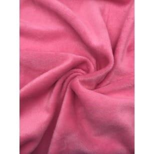Alpenfleece uni, rosa kaufen