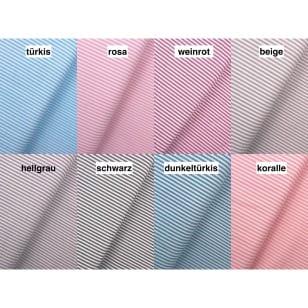 Baumwollstoff Dekostoff Streifen 3mm 8 Farben kaufen