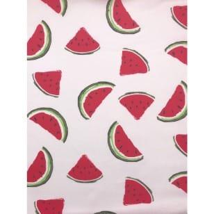 Baumwollstoff Wassermelone kaufen