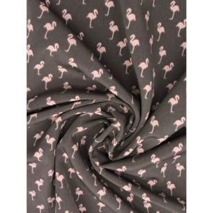 Blusenstoff Radiance Flamingo grau kaufen