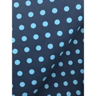 Cord Punkte, Feincord blau/hellblau kaufen