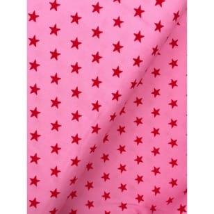 Feincord Sterne rosa kaufen