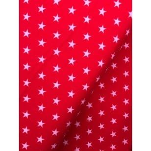 Feincord Sterne rot kaufen