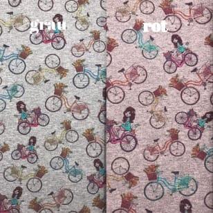 Sweat French Terry Fahrräder 2 Farben kaufen