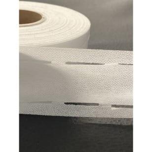 Stanzband, Bügeleinlage weiß, 3,5cm kaufen