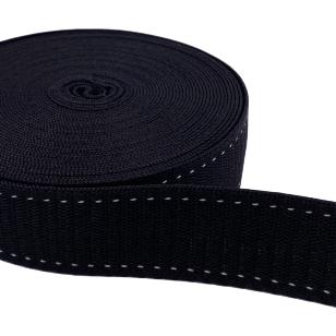 Hochwertiges Gurtband 30 mm schwarz kaufen