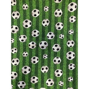 Jersey Stoff Kinderstoff Digitaldruck Fußball ab 50 cm kaufen