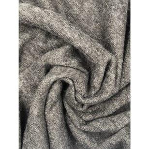 Angora-Jersey Stoff grau kaufen