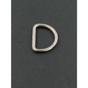 D-Ringe 15mm silberfarbene kaufen