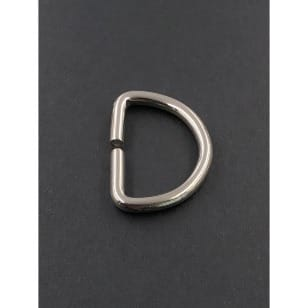 D-Ringe 30mm, silberfarbene kaufen