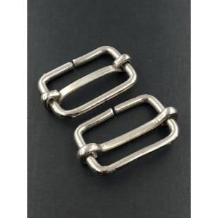 Metallschieber 30 mm silber kaufen