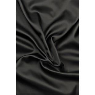 Futterstoff Polyester Satin schwarz ab 1m kaufen