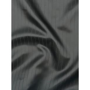 Futterstoff Polyester Satin Streifen schwarz kaufen