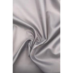 Futterstoff Polyester Satin grau ab 1m kaufen
