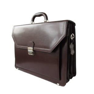 Leder Aktentasche, Herren Aktentasche dunkelbraun, Laptoptasche kaufen
