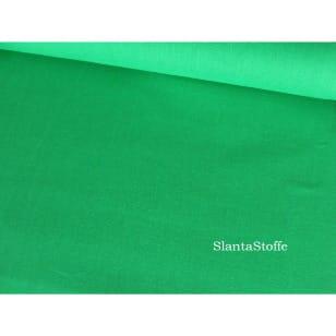 Baumwollstoff Uni, grün, 100% Baumwolle kaufen