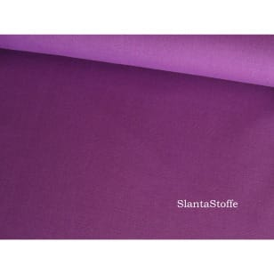 Baumwollstoff Uni, lila, 100% Baumwolle kaufen