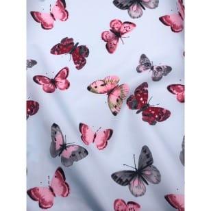 Outdoor Jackenstoff Regenjacke Schmetterling kaufen
