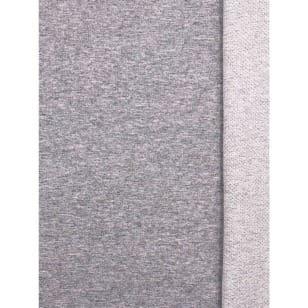 Sweat Terry French Terry Stoff meliert uni grau Breite 150cm ab 50cm kaufen