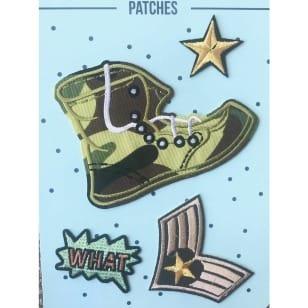 Aufnäher Applikation Army Patches Set 4 Teile kaufen