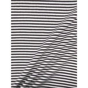 Bündchenstoff Schlauch Meterware Streifen grau kaufen