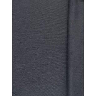 Sweat French Stoff uni schwarz Breite 150cm ab 50cm kaufen