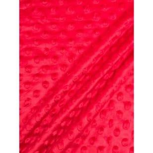 Minky Fleece Noppen Microfleece Breite 150 cm rot kaufen