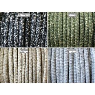 Kordel Polyester mit Lurex 7 mm rund Schnur Turnbeutel Dekokordel 4 Farben kaufen
