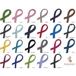 Paspelband Baumwolljersey elastisch 25 Farben kaufen