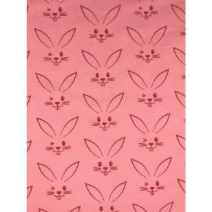 Jersey Stoff Kinderstoff Kaninchen apricot Breite 150 cm ab 50 cm kaufen