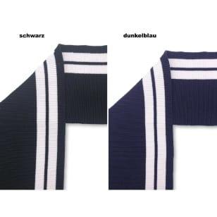 Bündchen Boord Cuff Stoff Streifen Öko TEX 2 Farben kaufen
