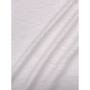 Jersey Baumwolle-Leinen uni meliert ecru kaufen