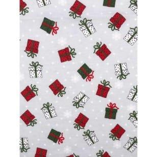 Single Jersey Kinderstoff Weihnachten Geschenk Breite 155cm ab 50 cm kaufen