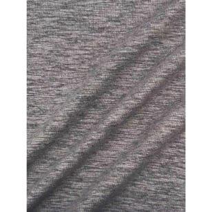Jersey Baumwolle-Leinen uni meliert ab 50cm kaufen