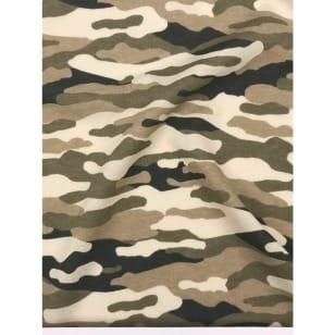 Single Jersey Kinderstoff Camouflage Military Breite 155cm ab 50 cm kaufen