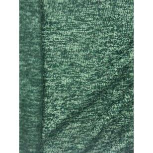 Strickstoff Strickfleece Stoff Fleece meliert altgrün kaufen