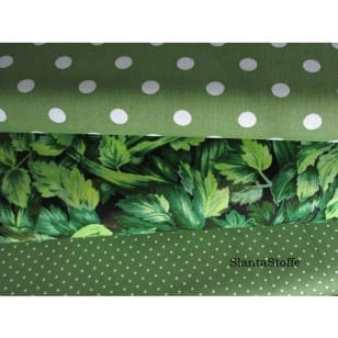 Stoffpaket in oliv 3 Stoffstücke kaufen